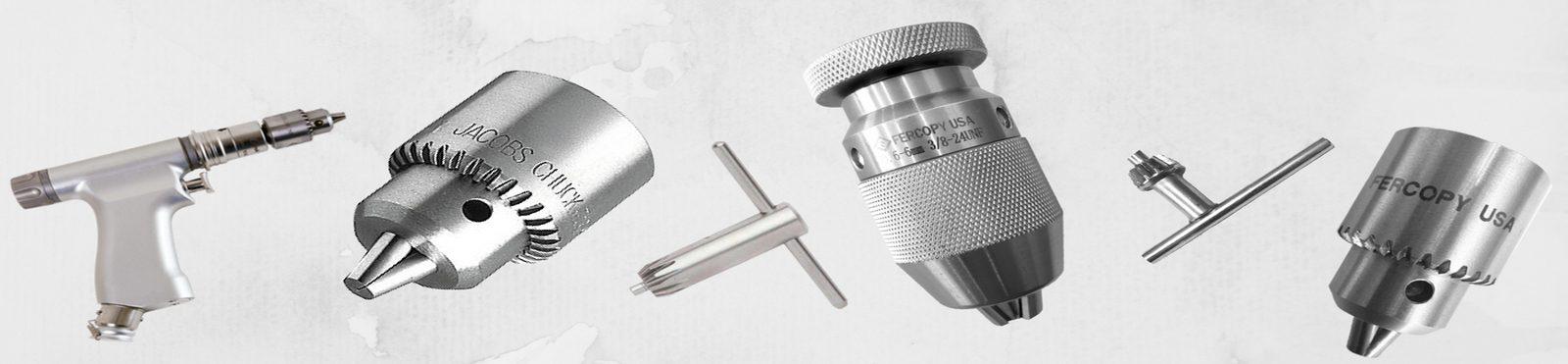Mandril de Aço Inox para Uso Hospitalar (com chave)
